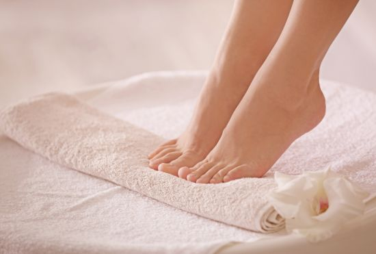 כפות רגליים מטופחות ובריאות