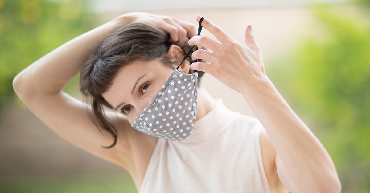 איך להגן על העור מהמסכה והכפפות?
